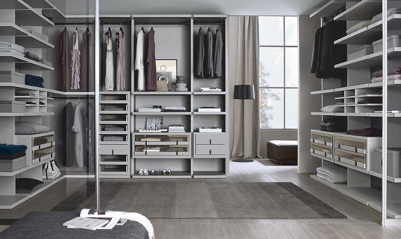 Millimetrica Walk-In Closets